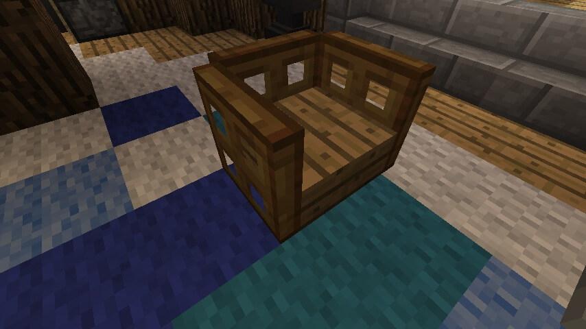 Slab Chair Ideas - Minecraft Furniture