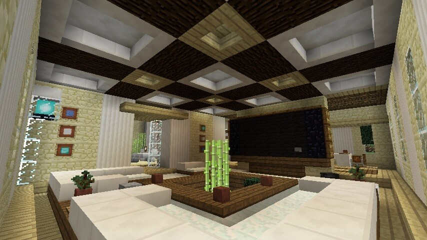 Lavish Living Room Minecraft Furniture *don't forget to leave a like and even subscribe. lavish living room minecraft furniture