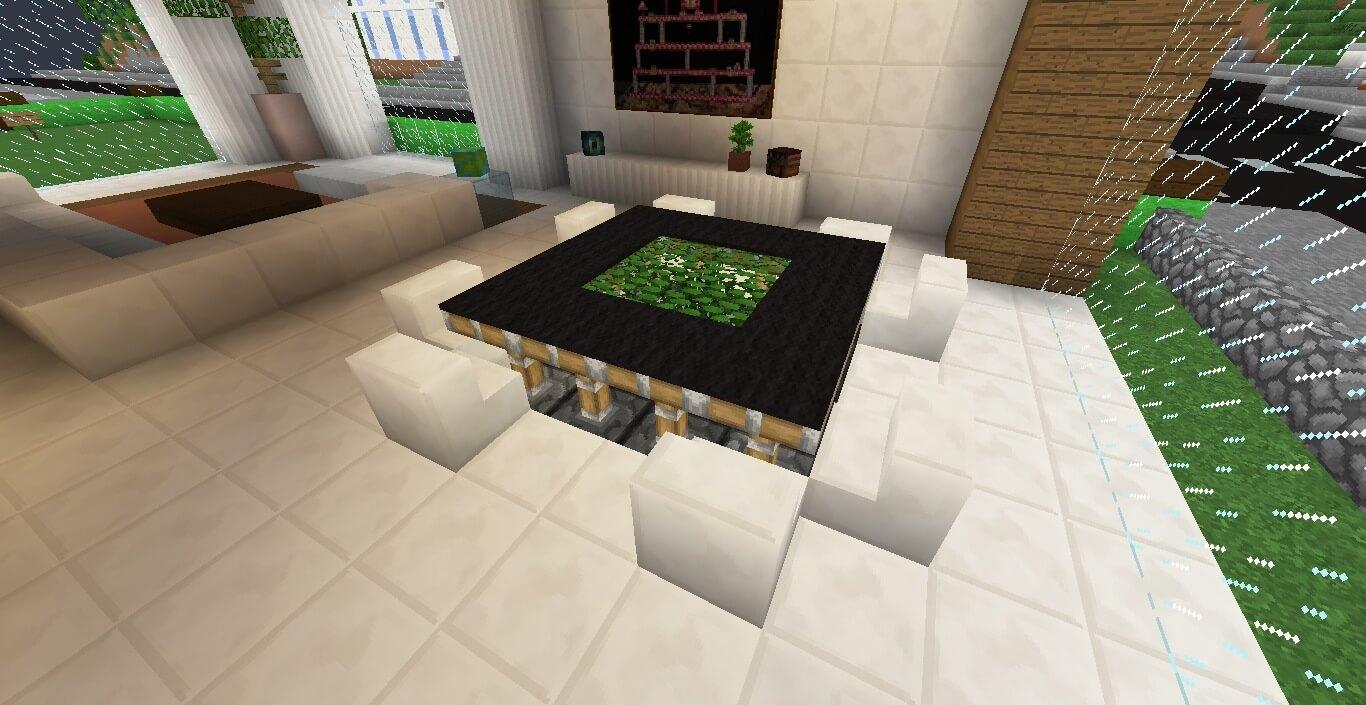 Eden Table - Minecraft Furniture