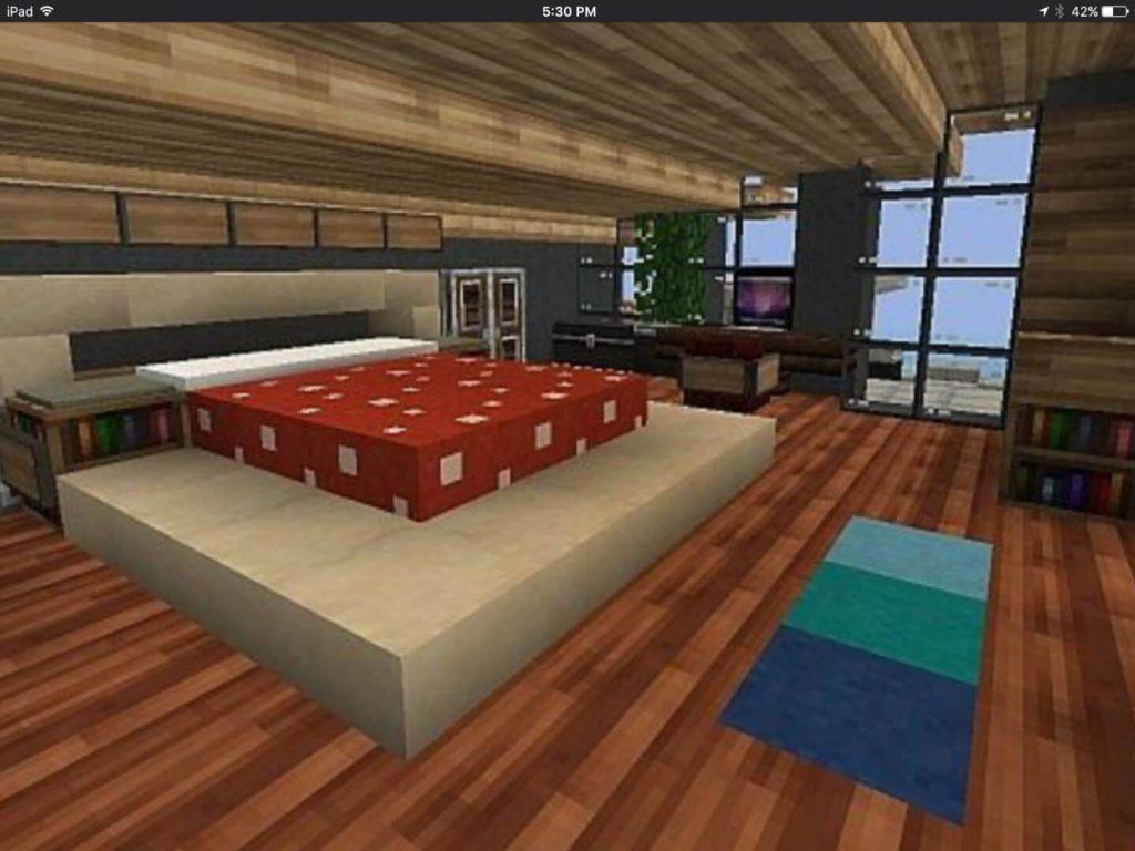 Mushroom Bed - Minecraft Furniture