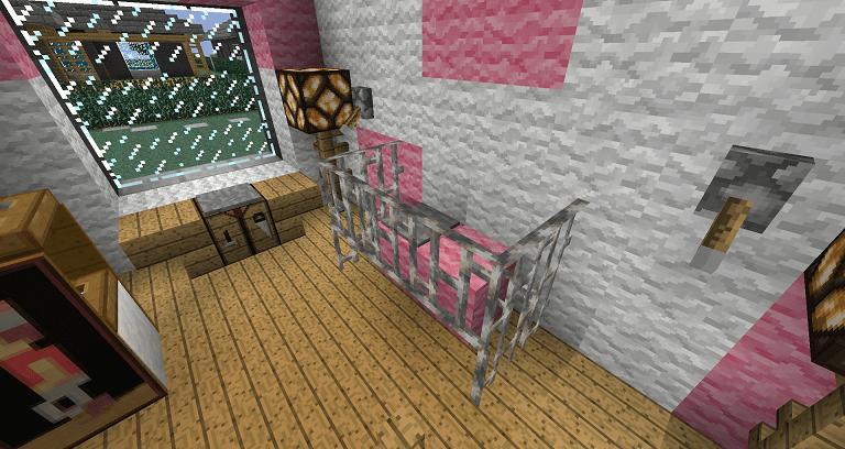 Babies Room Minecraft Furniture
