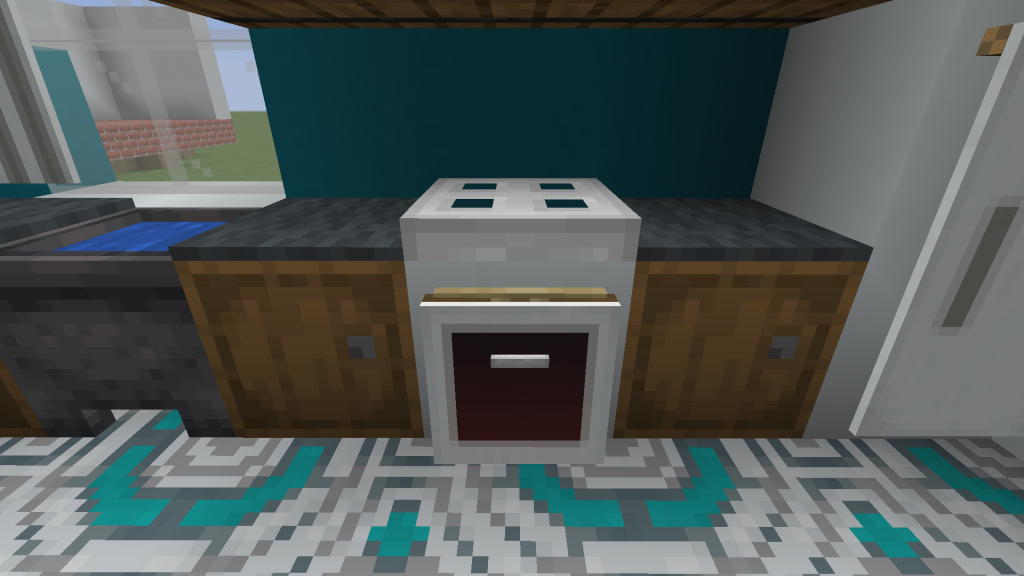 Minecraft Stove Top and Oven
