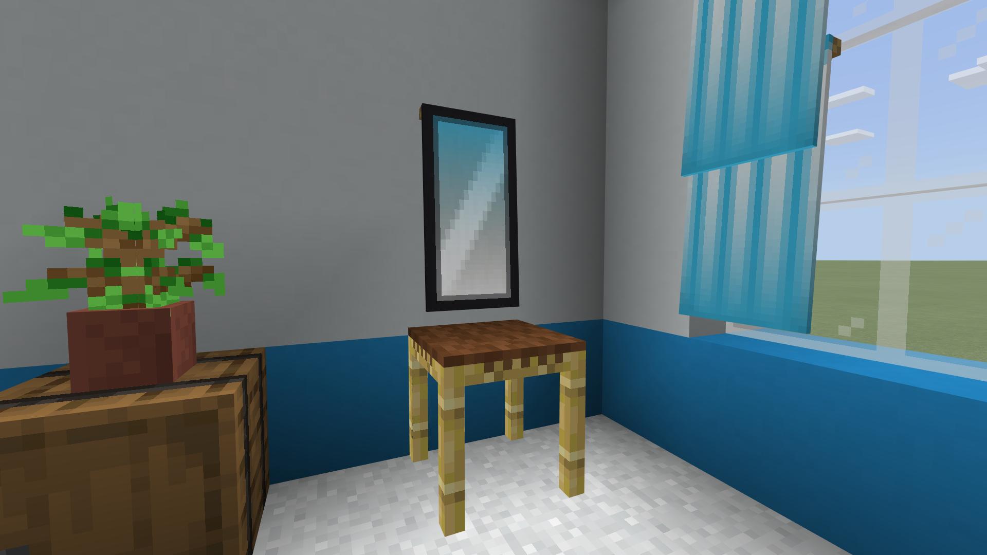 Mirror Banner Design Minecraft Furniture