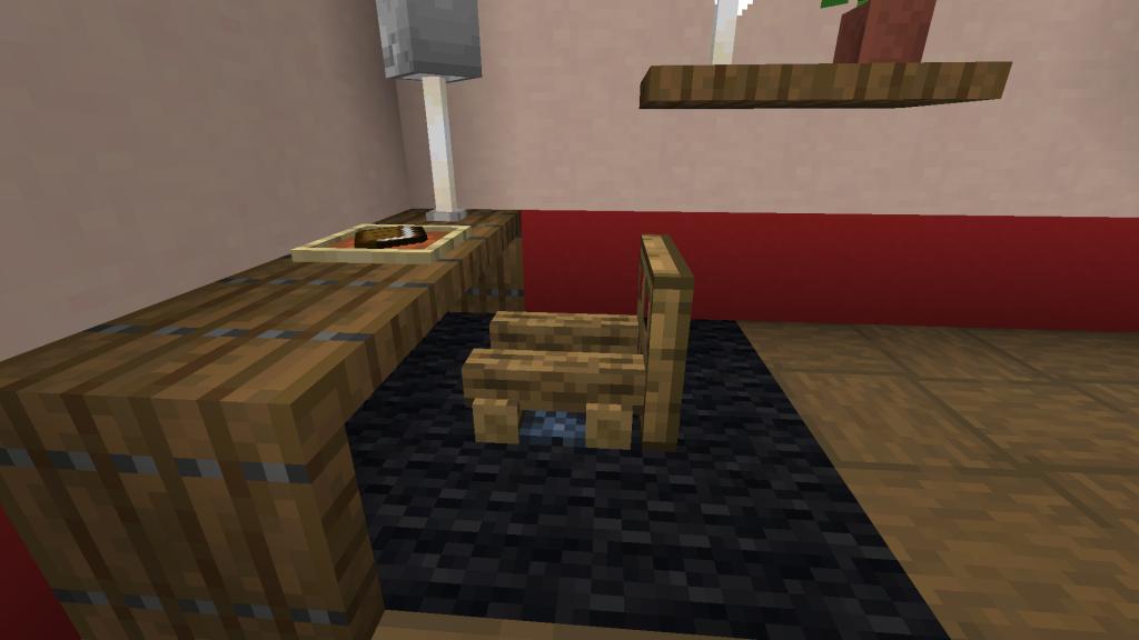 Minecraft Campfire Chair
