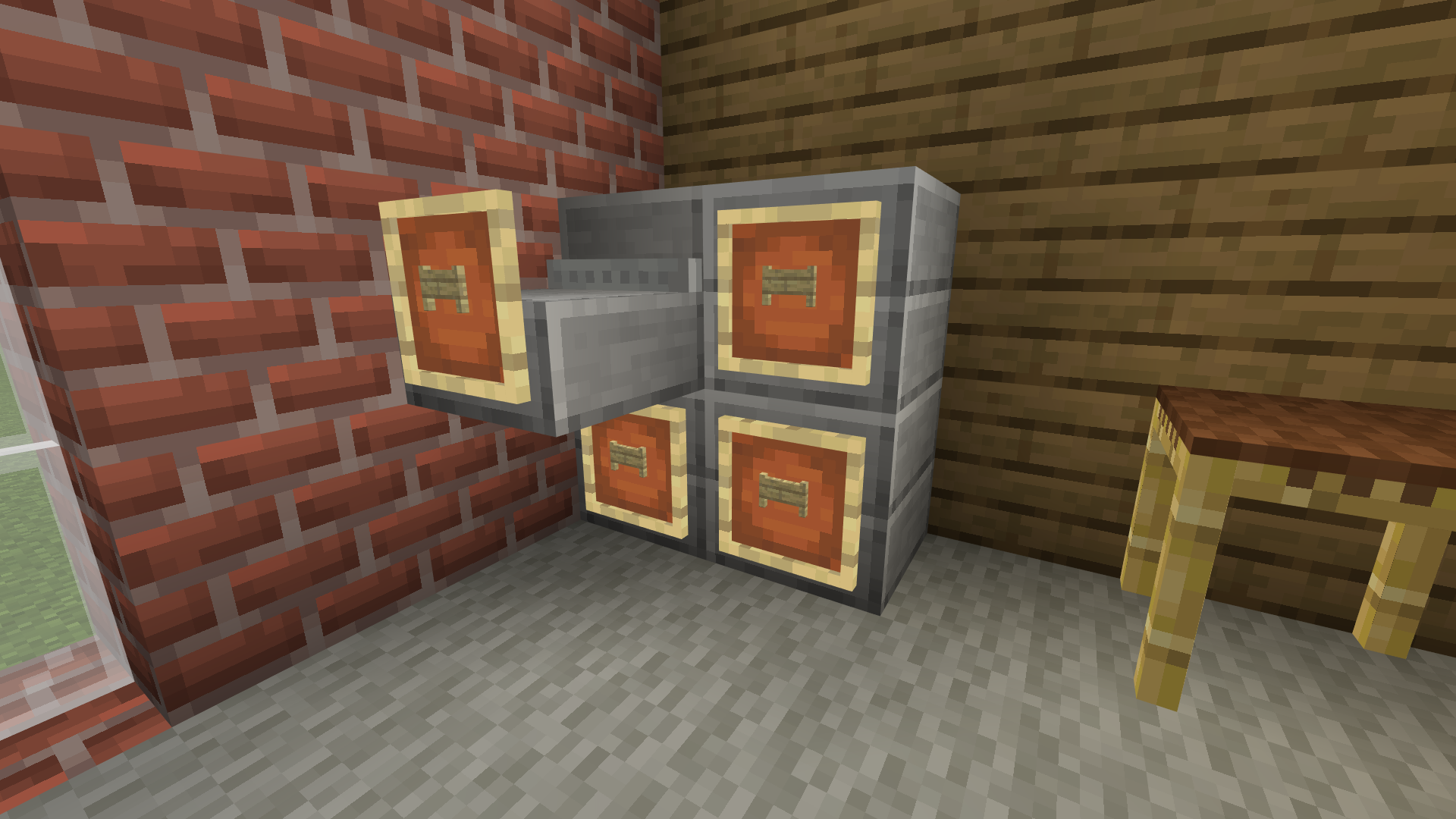 Filing Cabinet Minecraft Furniture