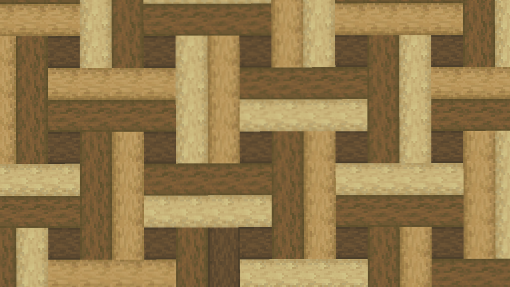 Minecraft Wood Floor Parquetry