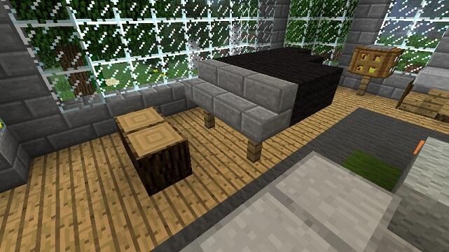 Grand Piano Minecraft Furniture