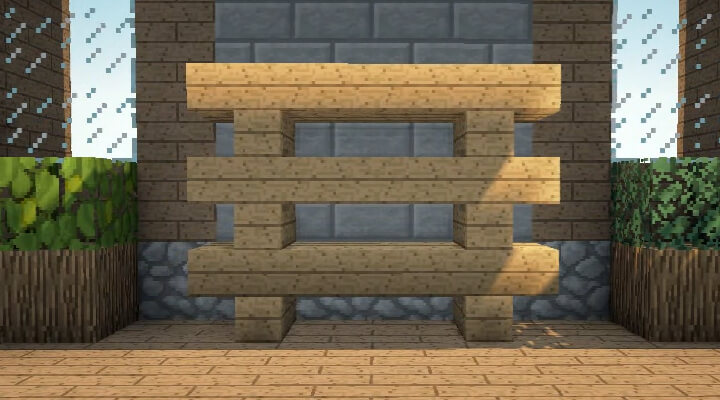Minecraft Bookshelf And Shelf Design Video Furniture