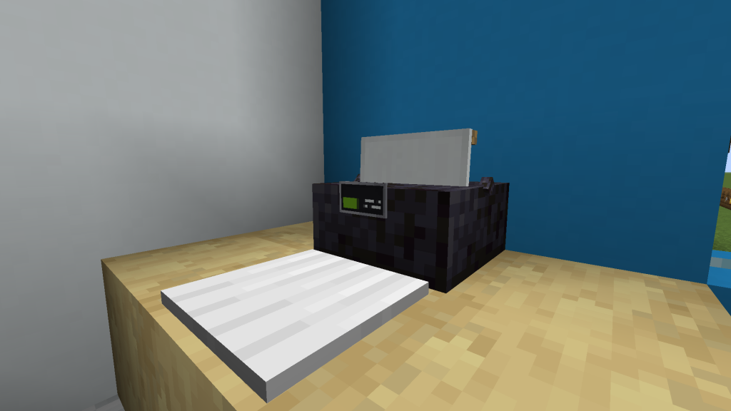 Minecraft Printer with Control Panel