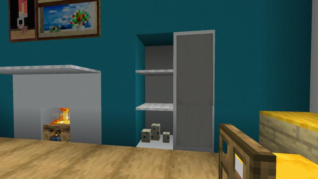Minecraft Wardrobe