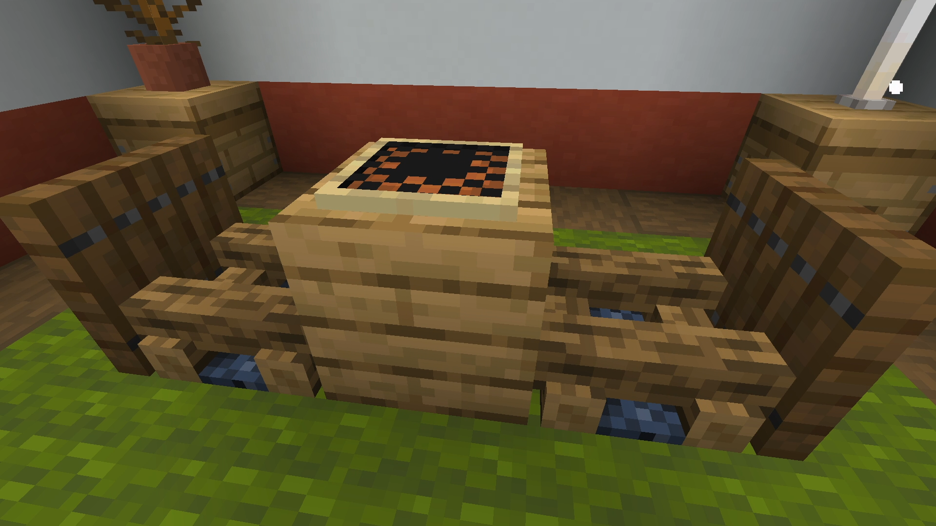 Chess Tables - Minecraft Furniture