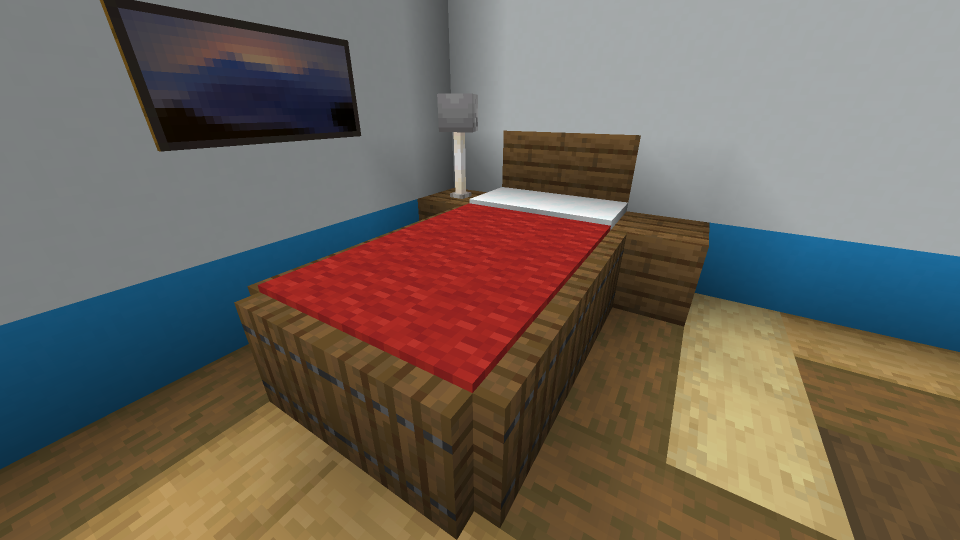 Bed-with-border