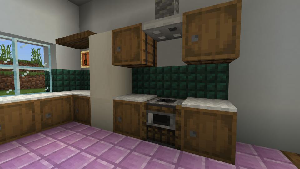 Minecraft Kitchen Ideas Minecraft Furniture