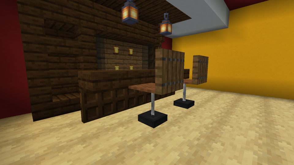 Minecraft Bar Chair