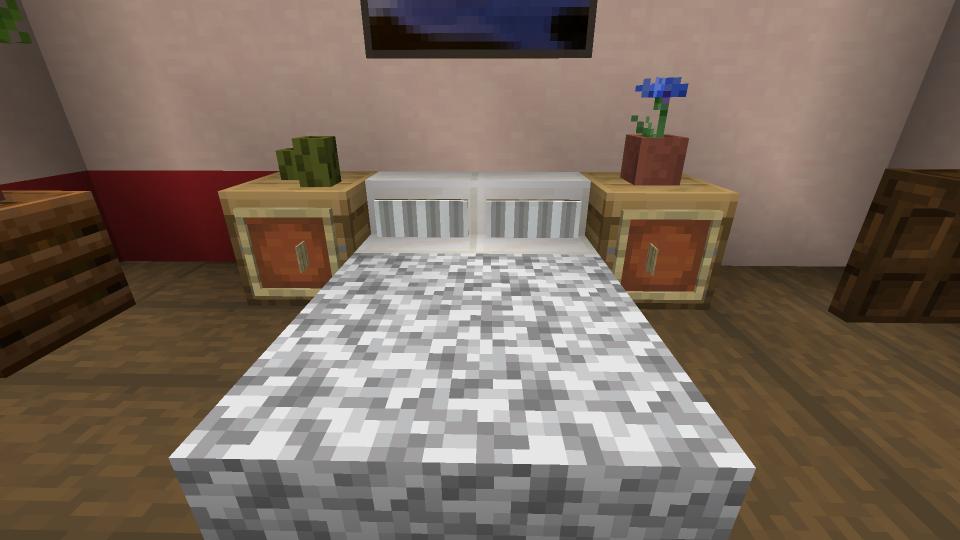 Minecraft-Bedside-Cabinet