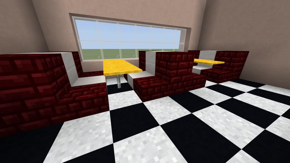 Minecraft Diner Booth
