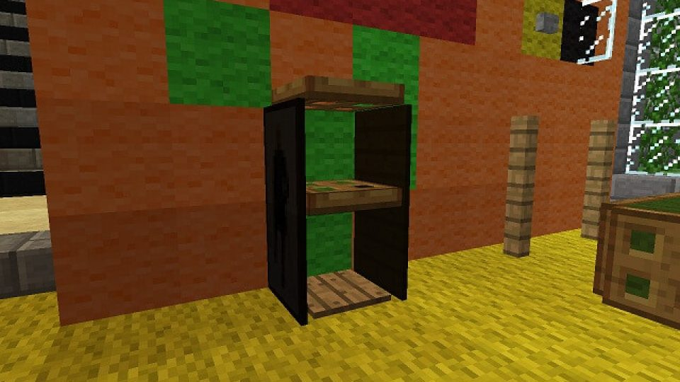 Minecraft-Display-Shelves