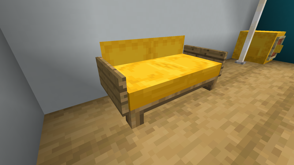 Minecraft-Lovseat-Design