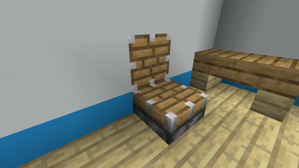 Minecraft-Piston-Chair