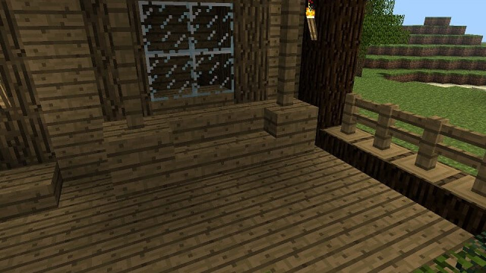 Minecraft-Porch-Swing