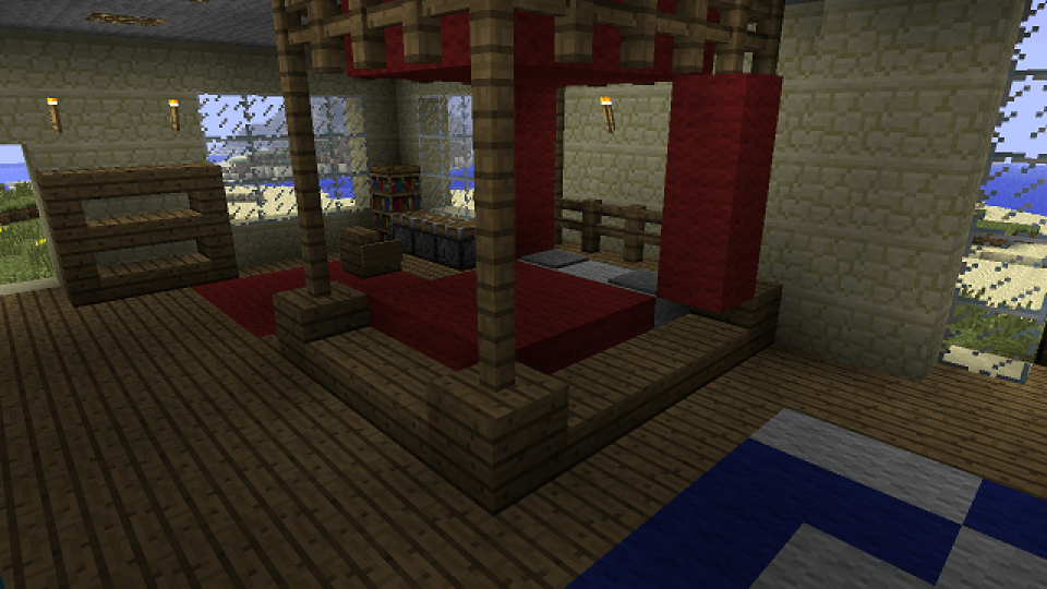 Minecraft-Poster-bed