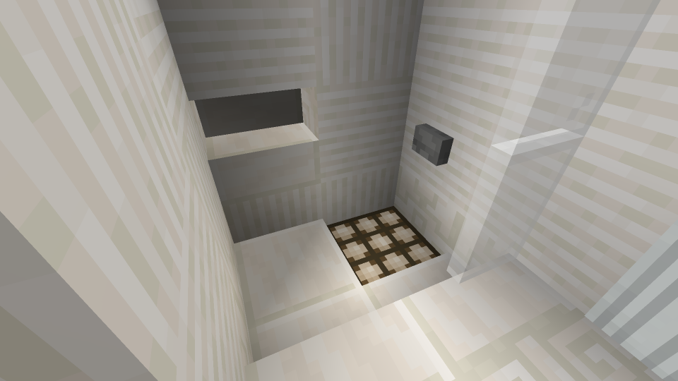 Minecraft Shower Drain
