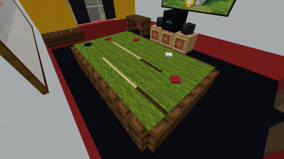 Minecraft-Snooker-Table