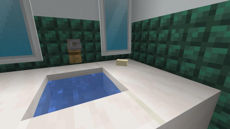 Minecraft Bathroom Designs Furniture