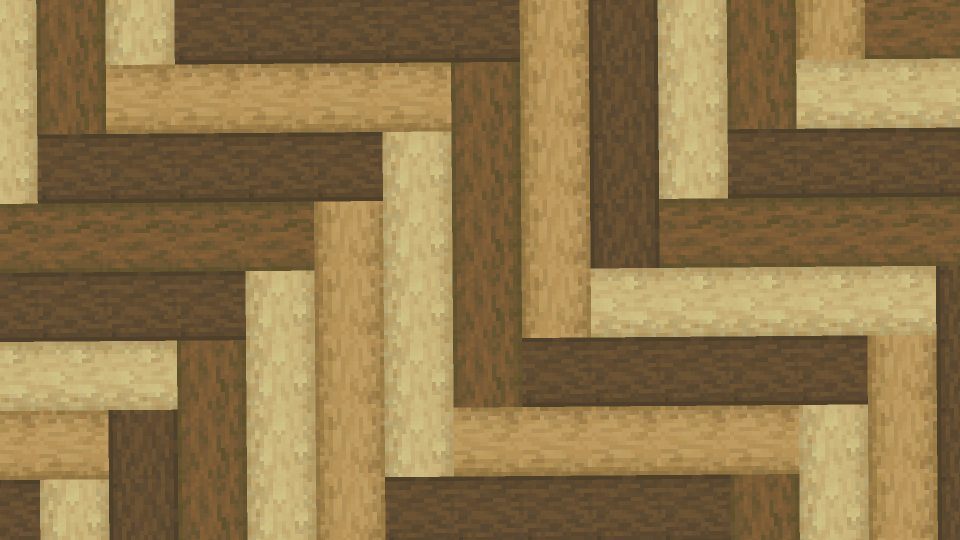 Minecraft-Wood-Parquetry-Herringbone