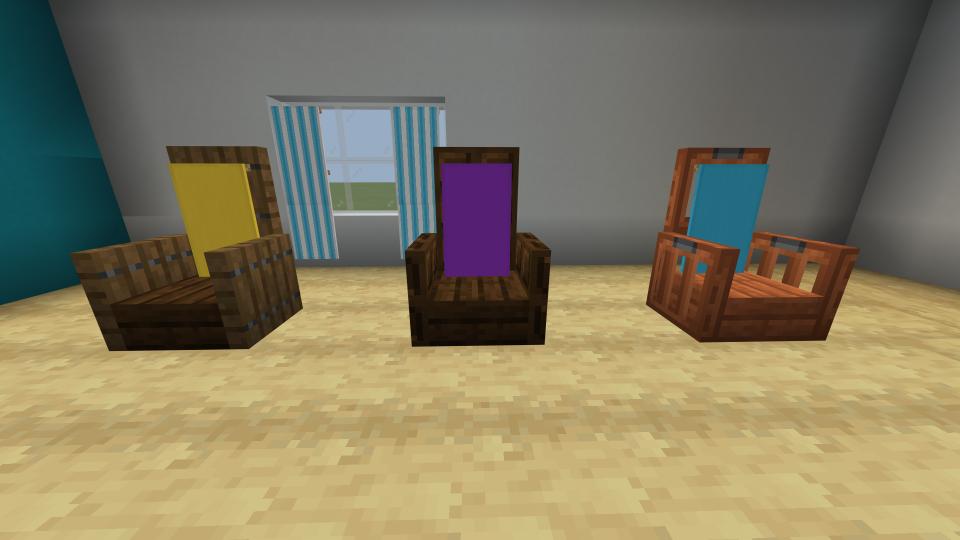 Minecraft-seat-designs