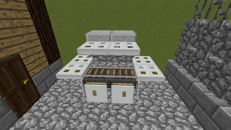 Modern-Minecraft-BBQ