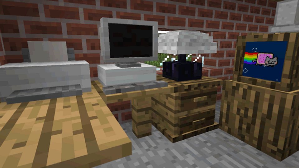 MrCrayfish-Furniture-Minecraft-Mod