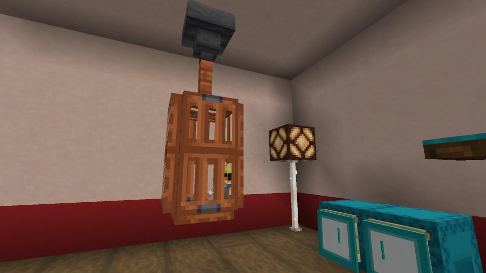 Minecraft Hanging Birdcage