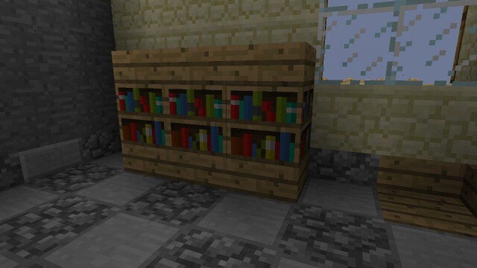 minecraft-bookshelf