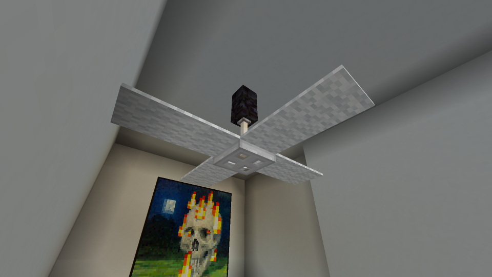 minecraft-cieling-fan-idea