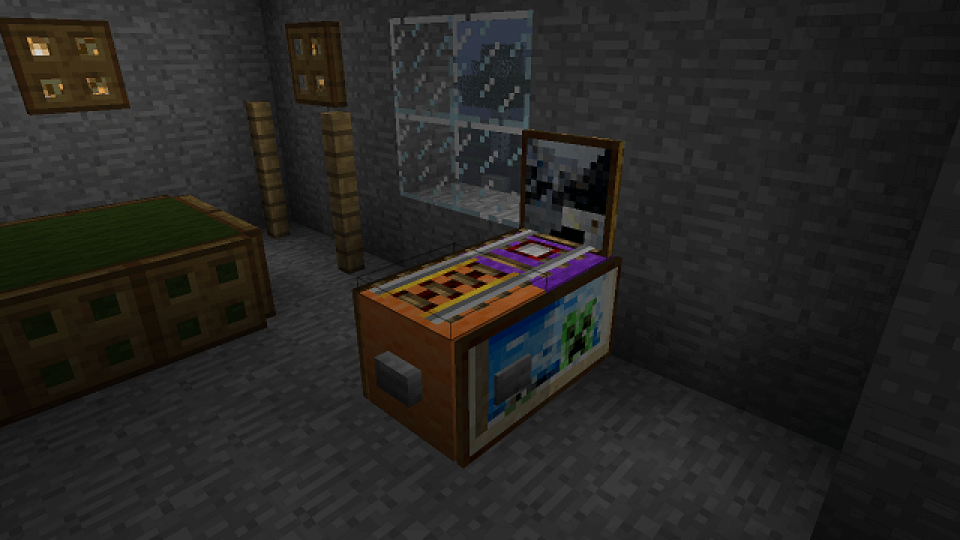 minecraft-pinball-machine
